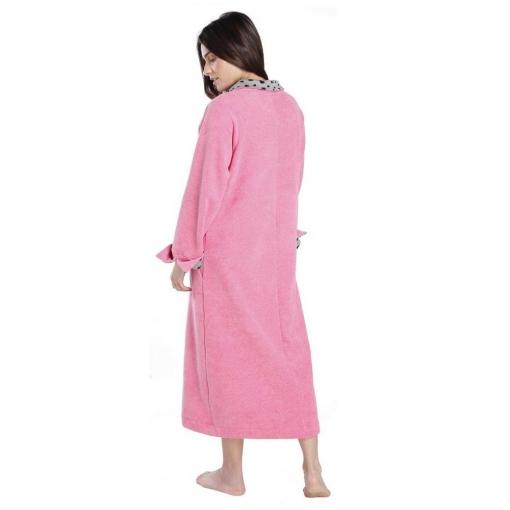 Robe Midi Atoalhado com Bolso
