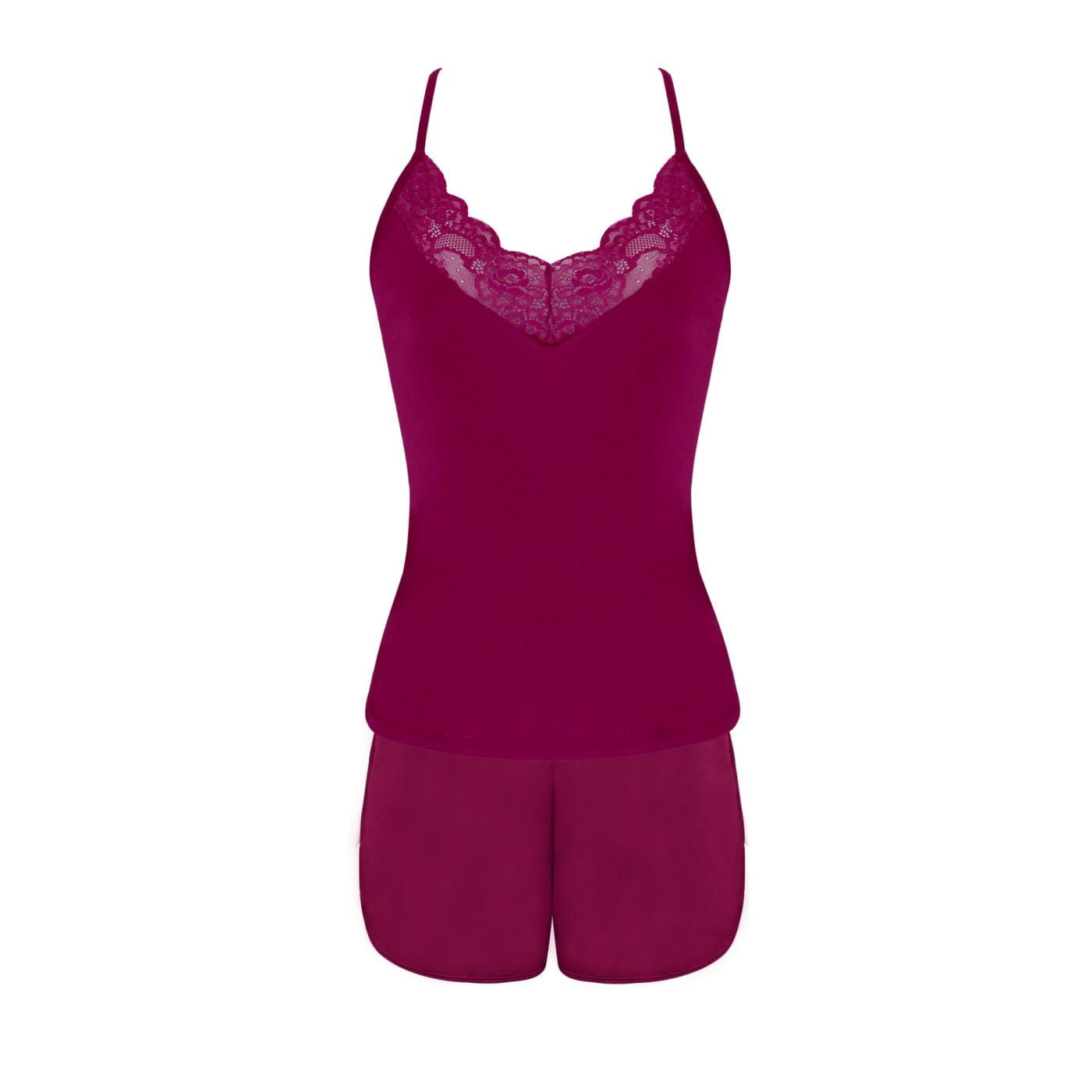 Shortdoll em liganete e renda - Coleção Sleepwear
