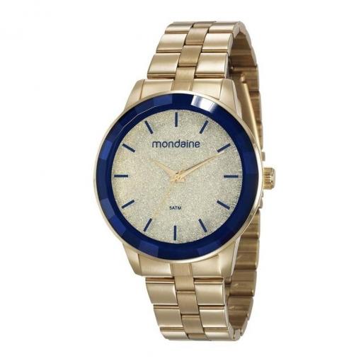 Relógio Mondaine Feminino com Glitter