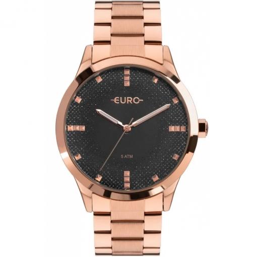 Relógio Euro Glitter Fever Feminino Rosé