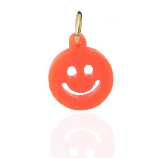 Pingente infantil smile laranja - Coleção Helo