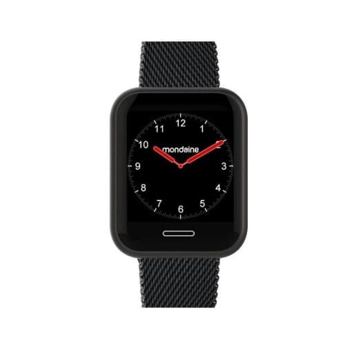Relógio Mondaine smartwatch preto
