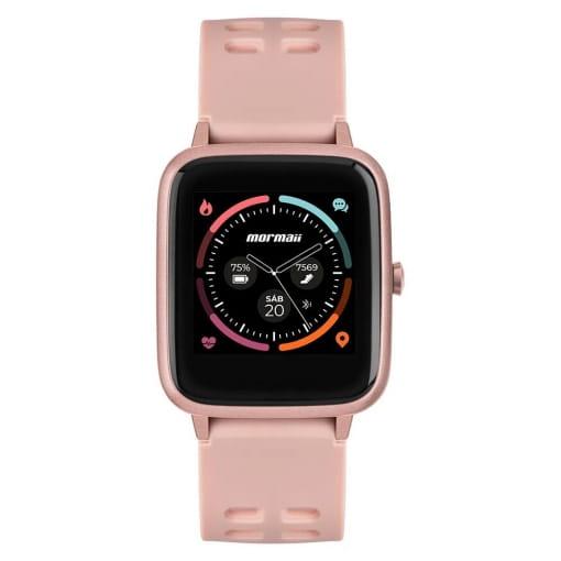 Smartwatch Mormaii Life Unissex Rosé