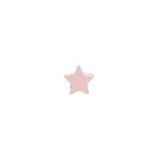 pingente estrela rose