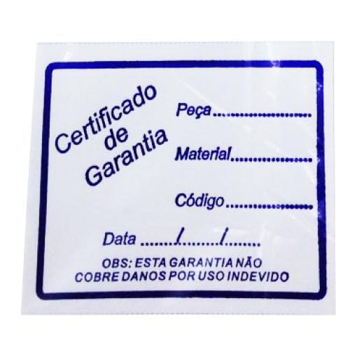 Certificado C/ 50 Pçs