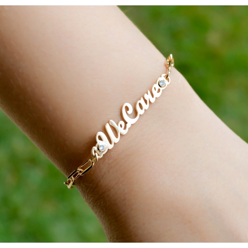 PULSEIRA COM ELOS CARTIE - I WE CARE