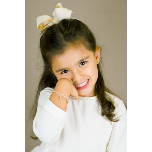 PULSEIRA INFANTIL RIVIERA ROSA 14+5CM