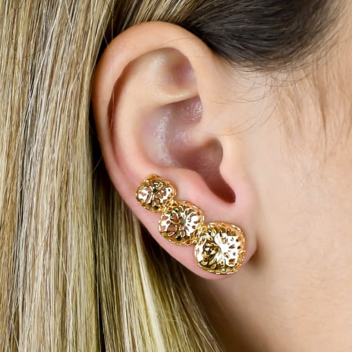 BRINCO EAR CUFF METAL