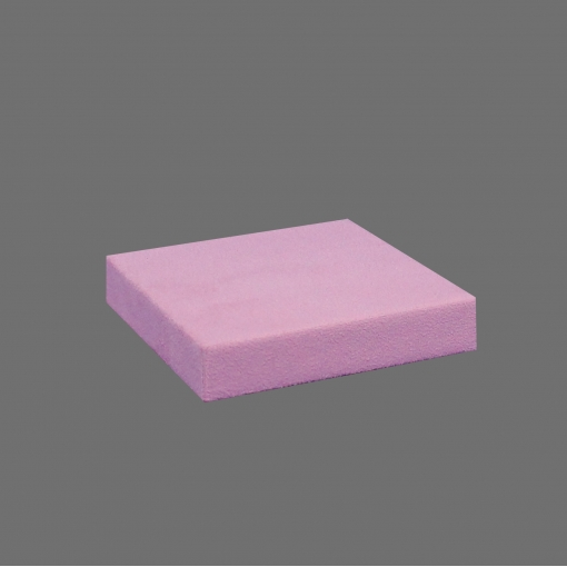 EXPOSITOR CUBO SUEDE ROSA
