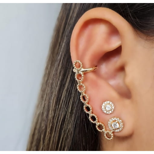 BRINCO EAR CUFF CORRENTE