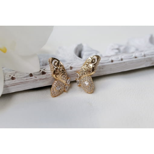 BRINCO EAR CUFF BUTTERFLY