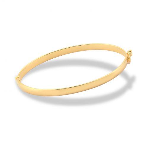 Bracelete Algema Folheado a Ouro