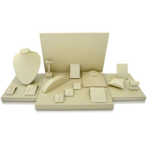 Kit de Expositores para Joias Perola com 18 peças