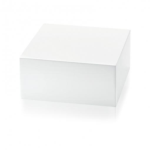Expositor Quadrado Para Pulseira M em Madeira Laqueada Branca