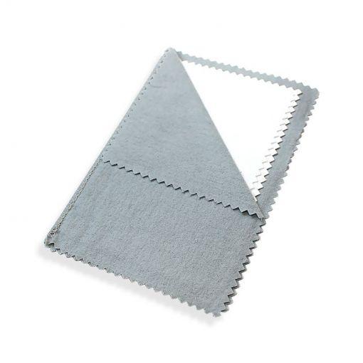 Flanela Cinza Limpeza e Brilho eficaz para suas joias