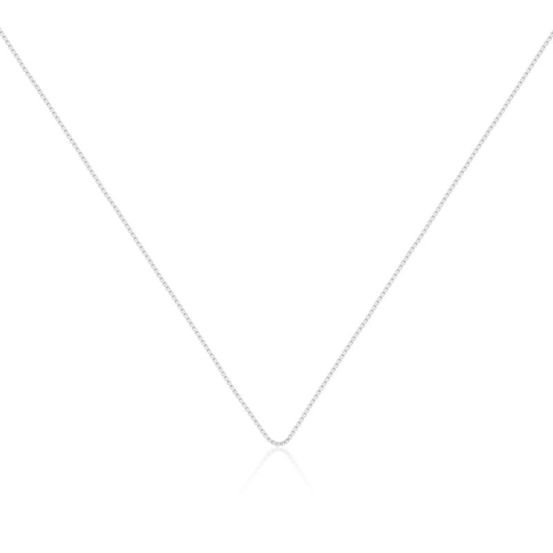 Corrente Veneziana 45cm Prata Lisa